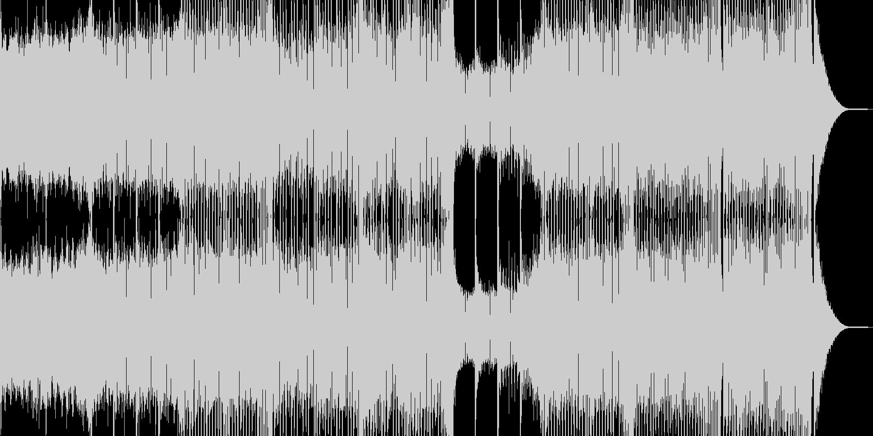 活気と元気が溢れるEDMの未再生の波形