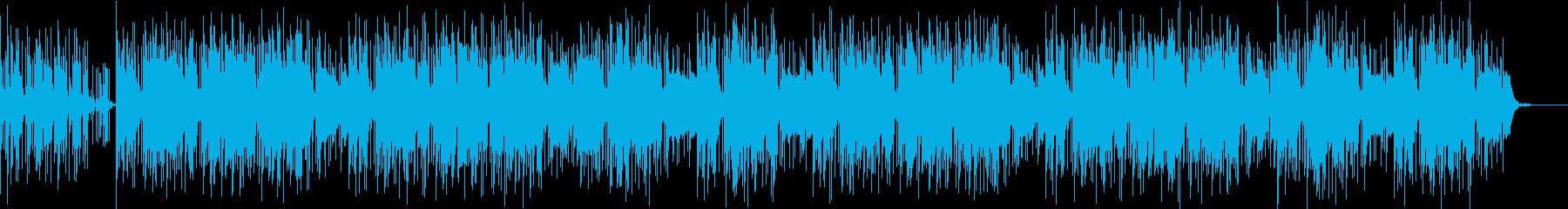 クールなインストヒップホップですの再生済みの波形