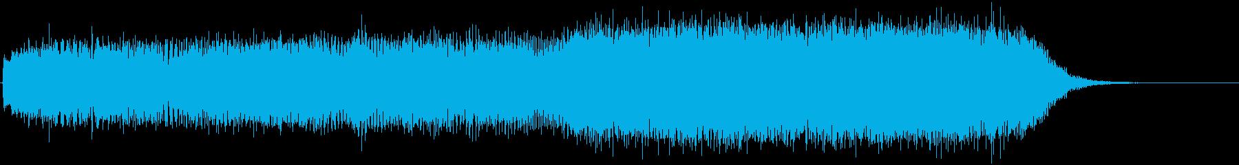 キュイーン…シュピン!(瞬間移動)の再生済みの波形