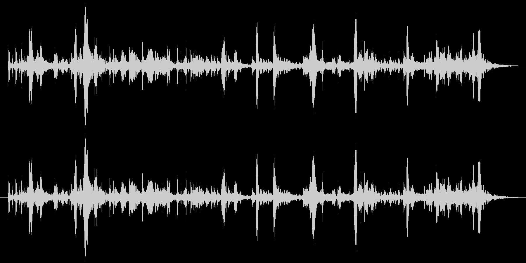 157 水アブク音3の未再生の波形