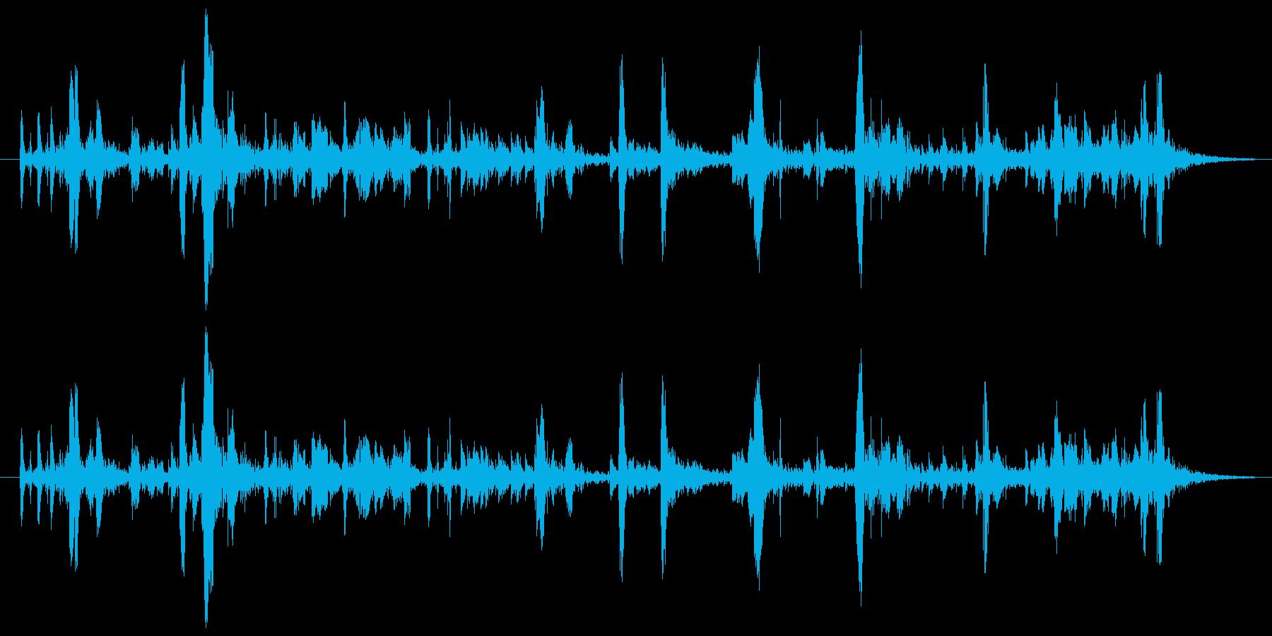 157 水アブク音3の再生済みの波形