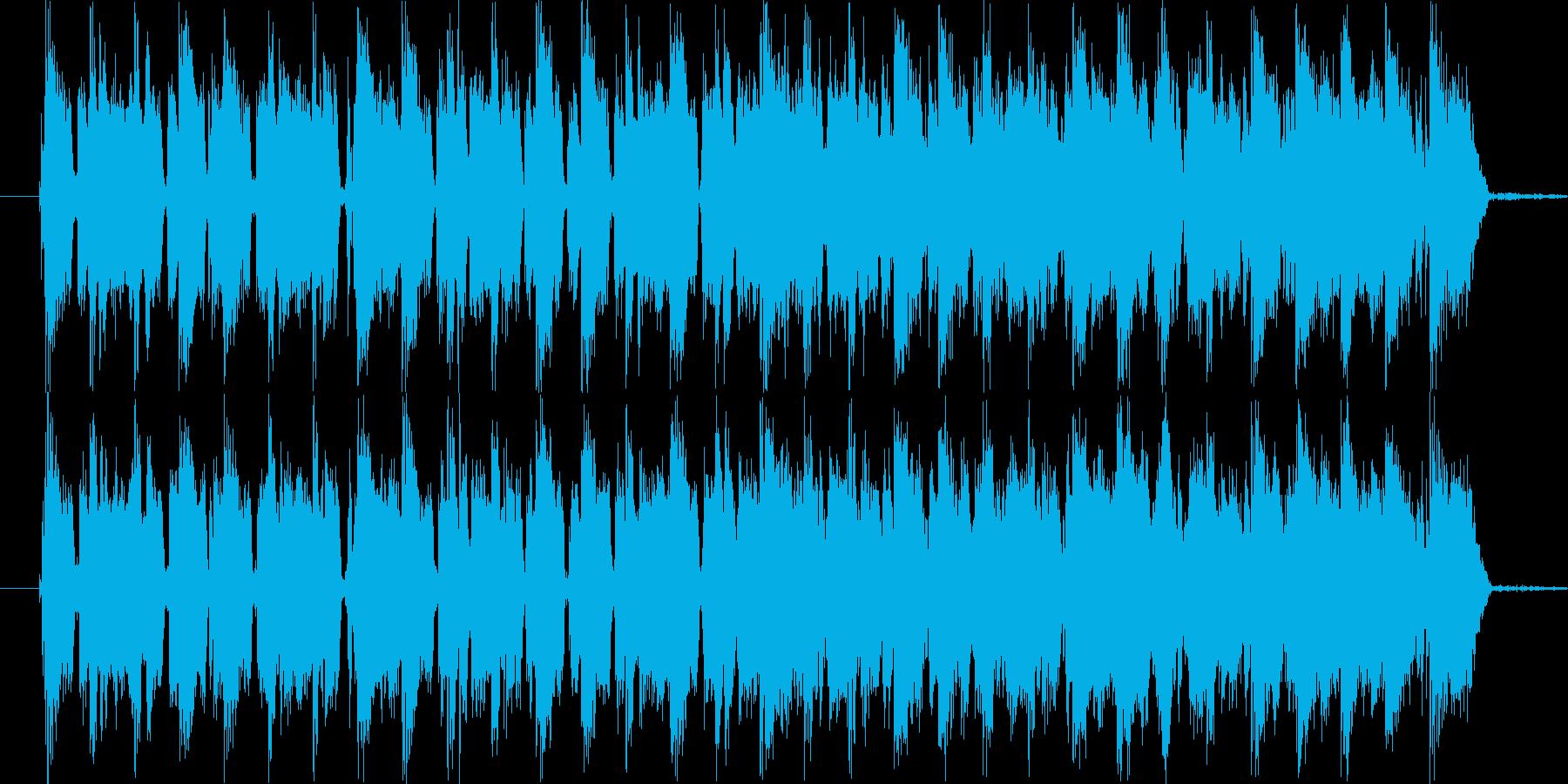 スポーツCMの再生済みの波形
