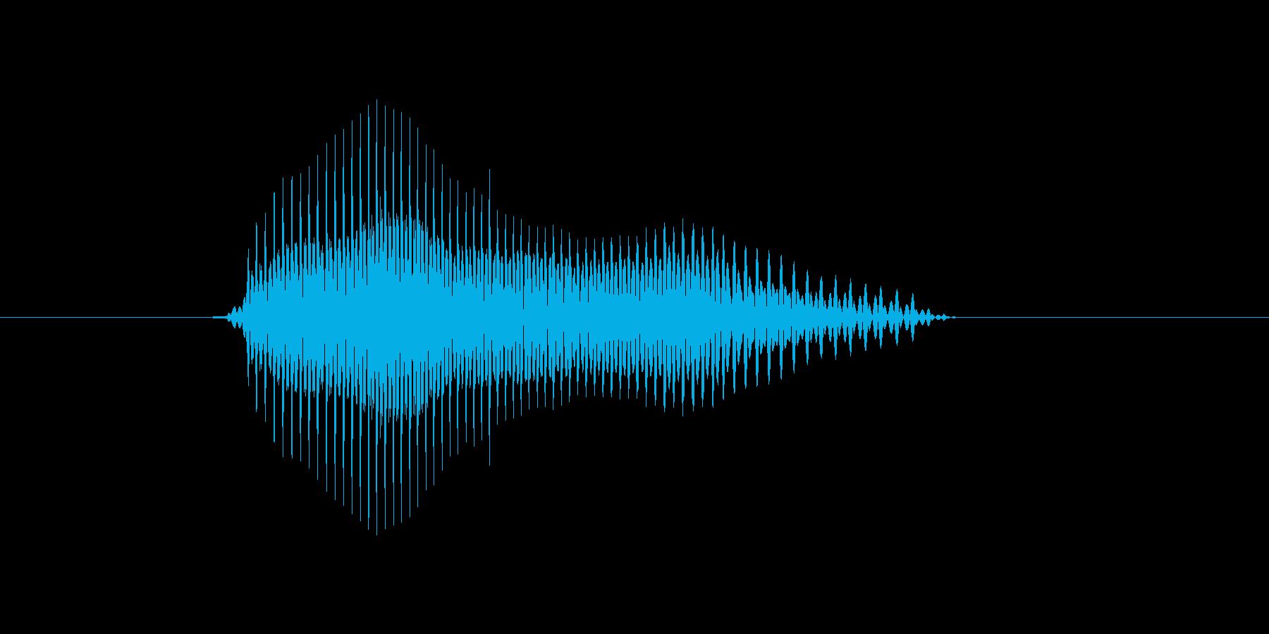 e,E,E(イー)の再生済みの波形