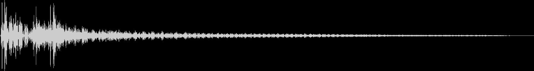 ドンカカっ(和太鼓)の未再生の波形