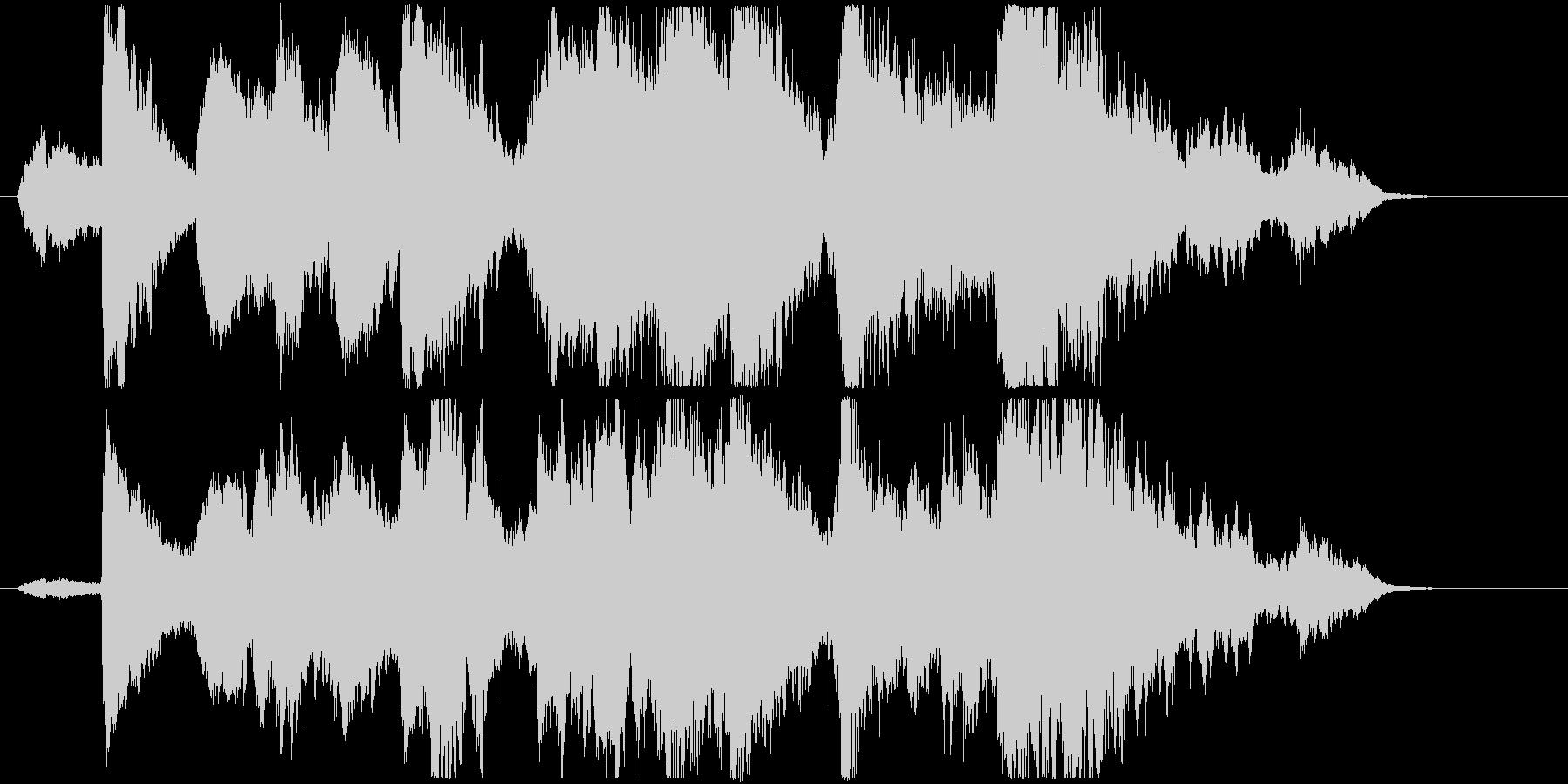 中東的な声とシタールの怪しいアンビ系の未再生の波形