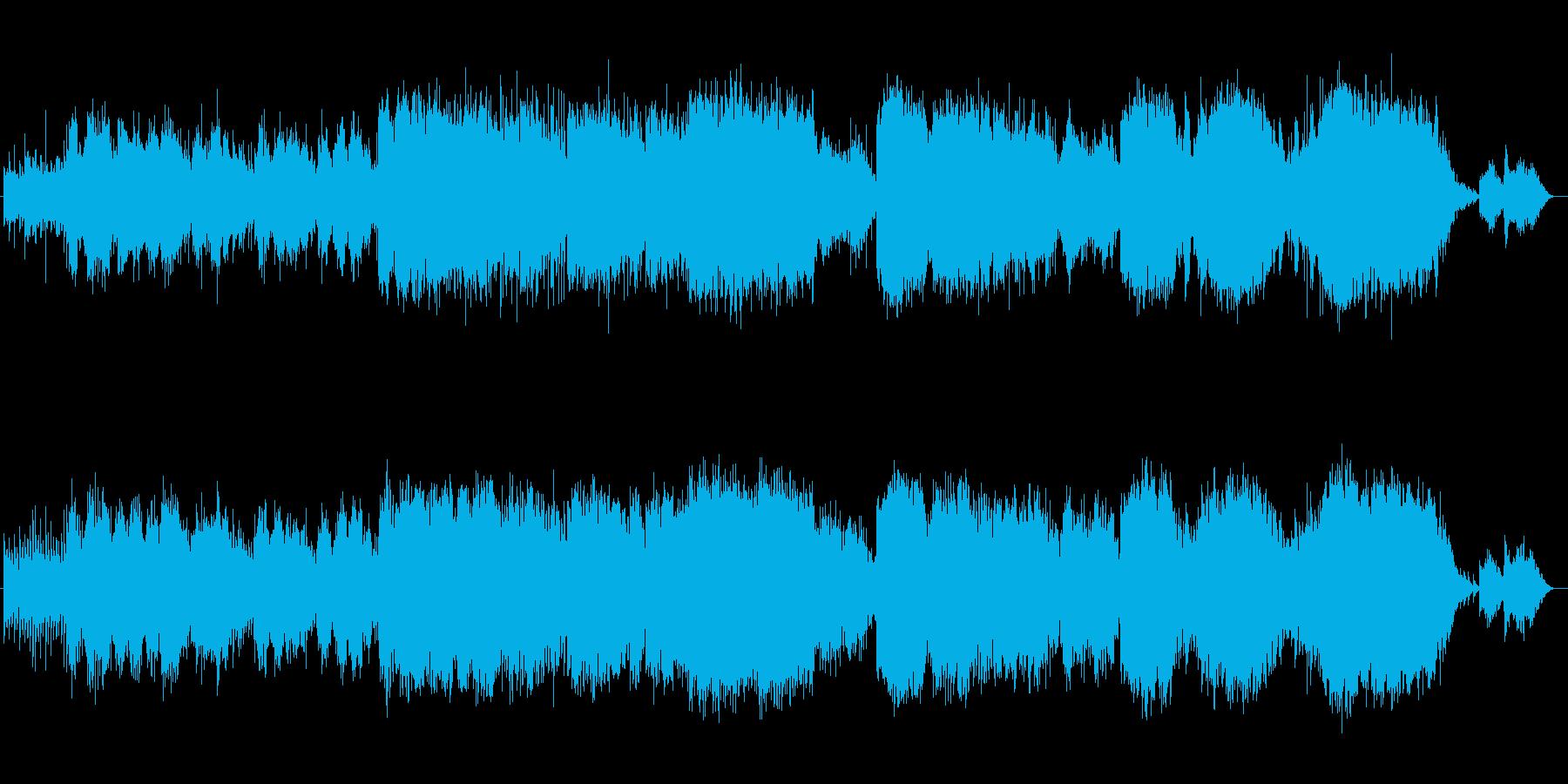 儚げなギターバラードの再生済みの波形