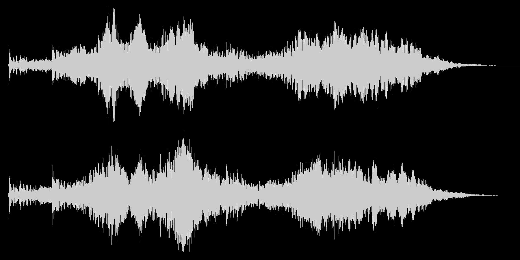 サウンドロゴ【不思議】ジングル魔法開封の未再生の波形