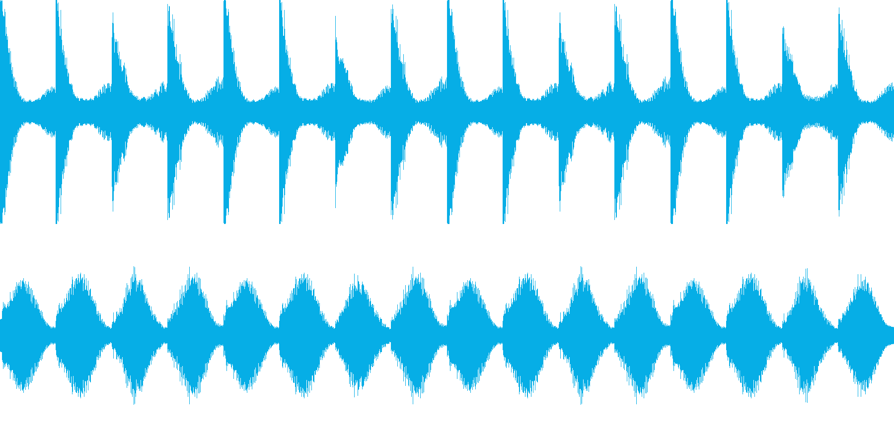 【エレピ】悲しげ ピアノの再生済みの波形