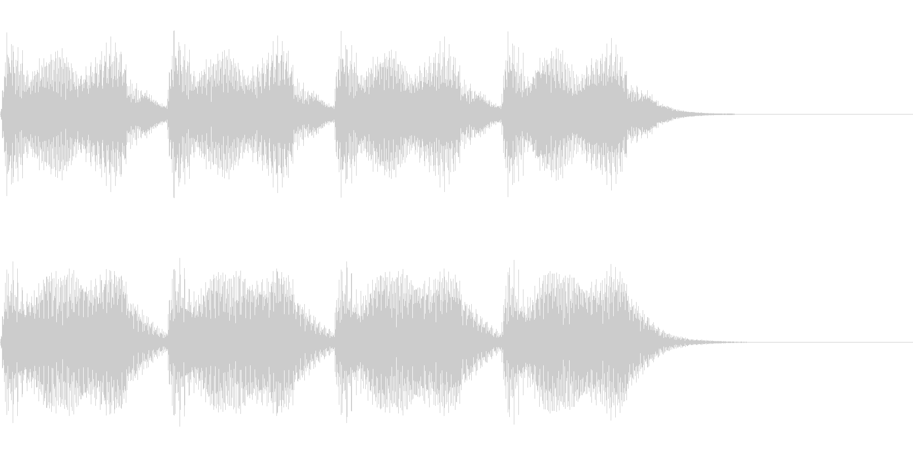 重厚な響きのエラー音・警告~恐怖感薄め~の未再生の波形