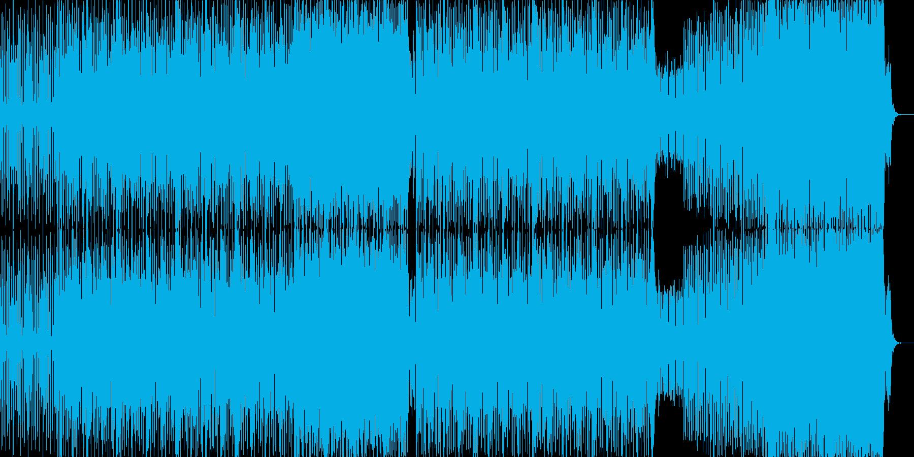 シンセの音が心地よいグルーヴ感のあるB…の再生済みの波形