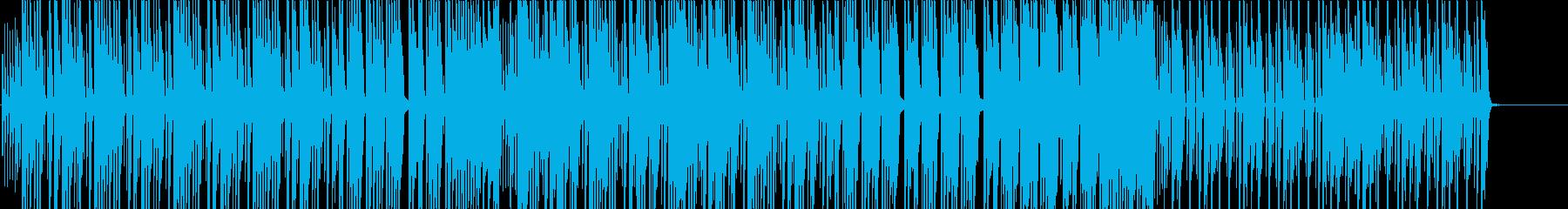三味線、箏の可愛くカッコ良い和風曲の再生済みの波形