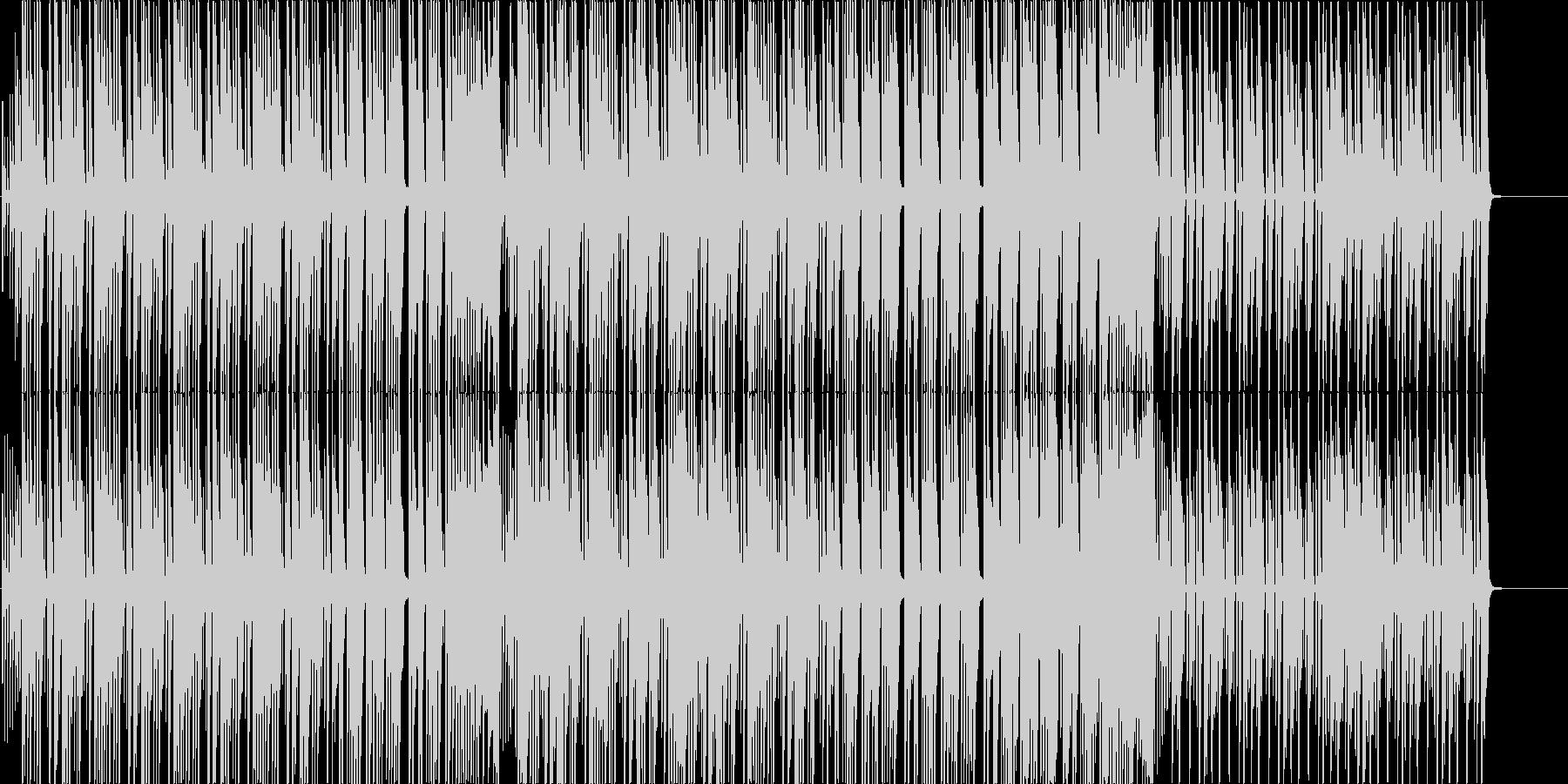 三味線、箏の可愛くカッコ良い和風曲の未再生の波形