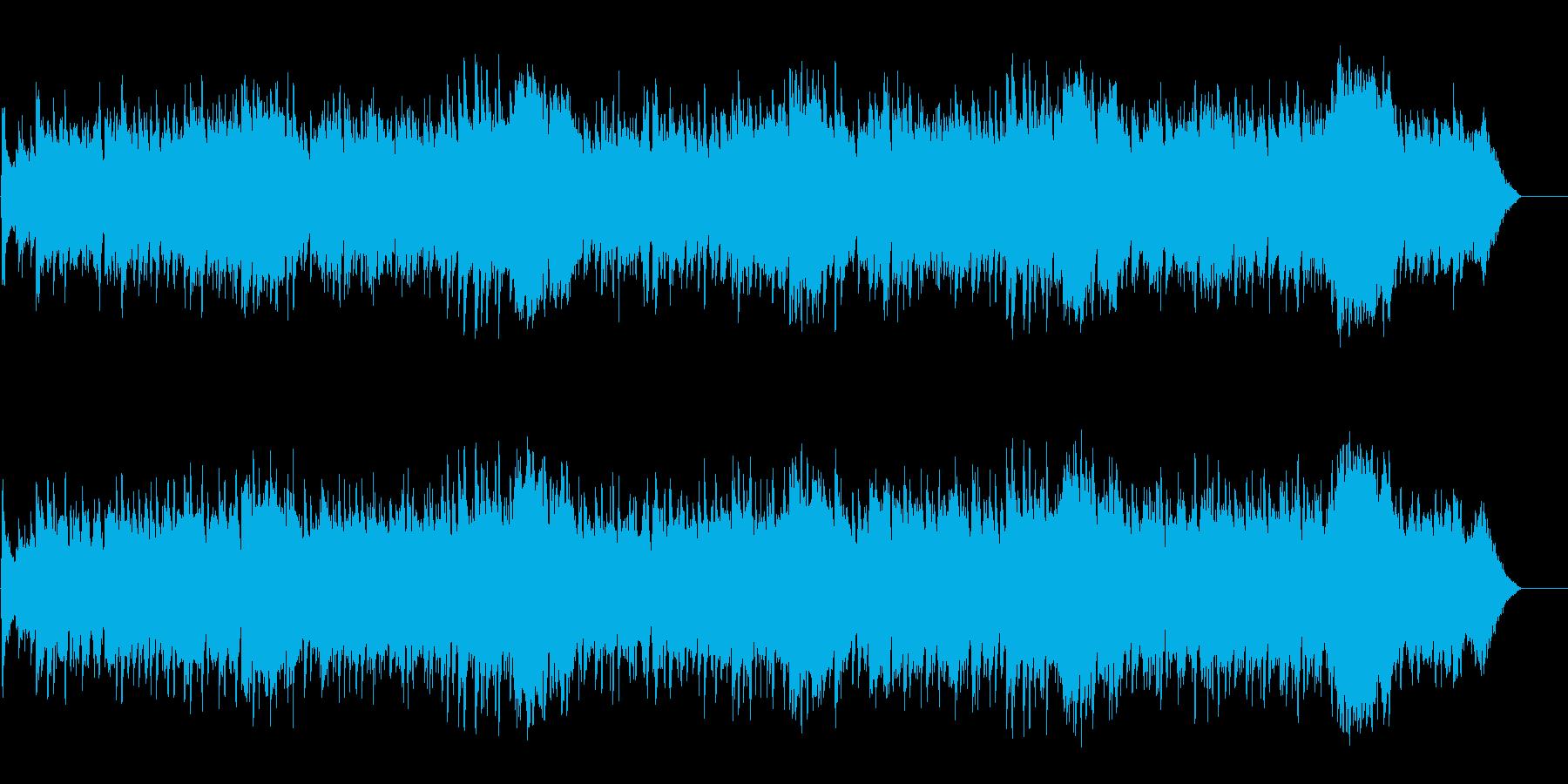 哀愁のシチリア民謡風マイナーワールドの再生済みの波形
