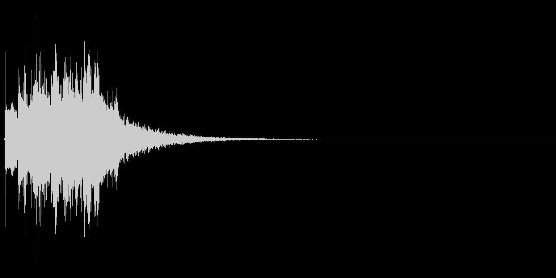 ピキピキ(凍りつく、凍る、氷魔法)の未再生の波形