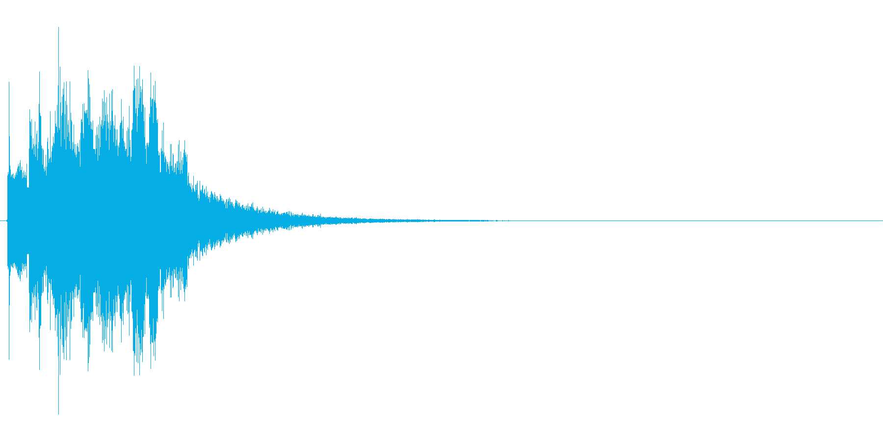 ピキピキ(凍りつく、凍る、氷魔法)の再生済みの波形