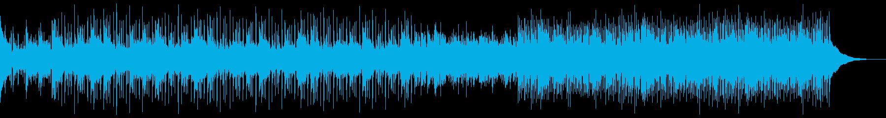 アコースティックでカントリーな曲の再生済みの波形