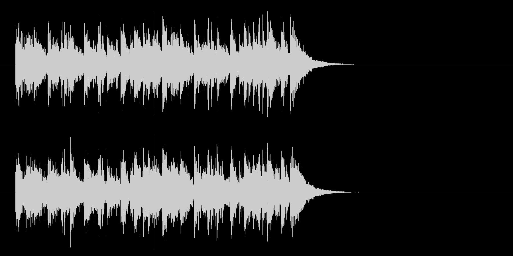 ジングル(元気一発)の未再生の波形