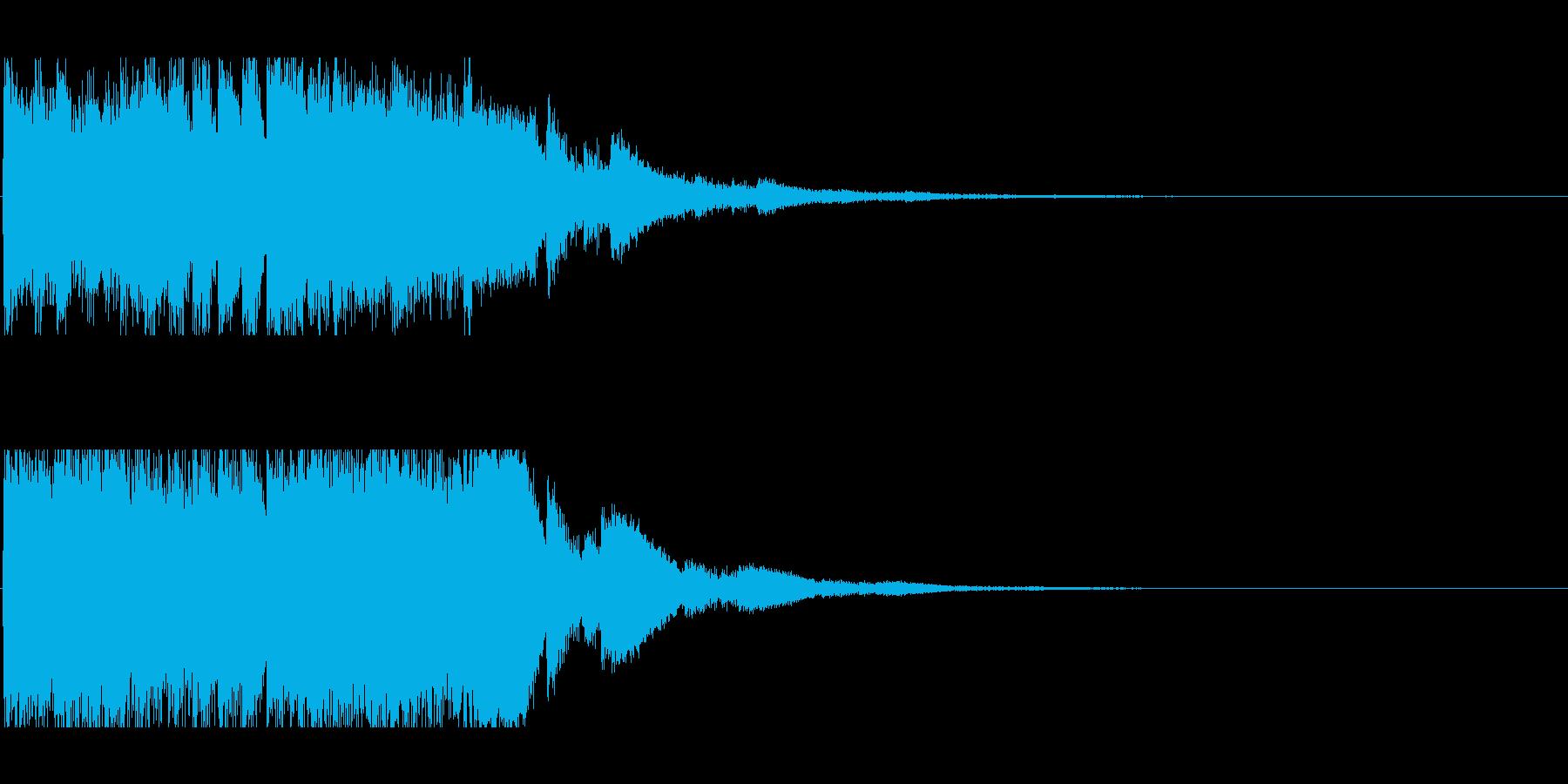 キラキラキリンの再生済みの波形