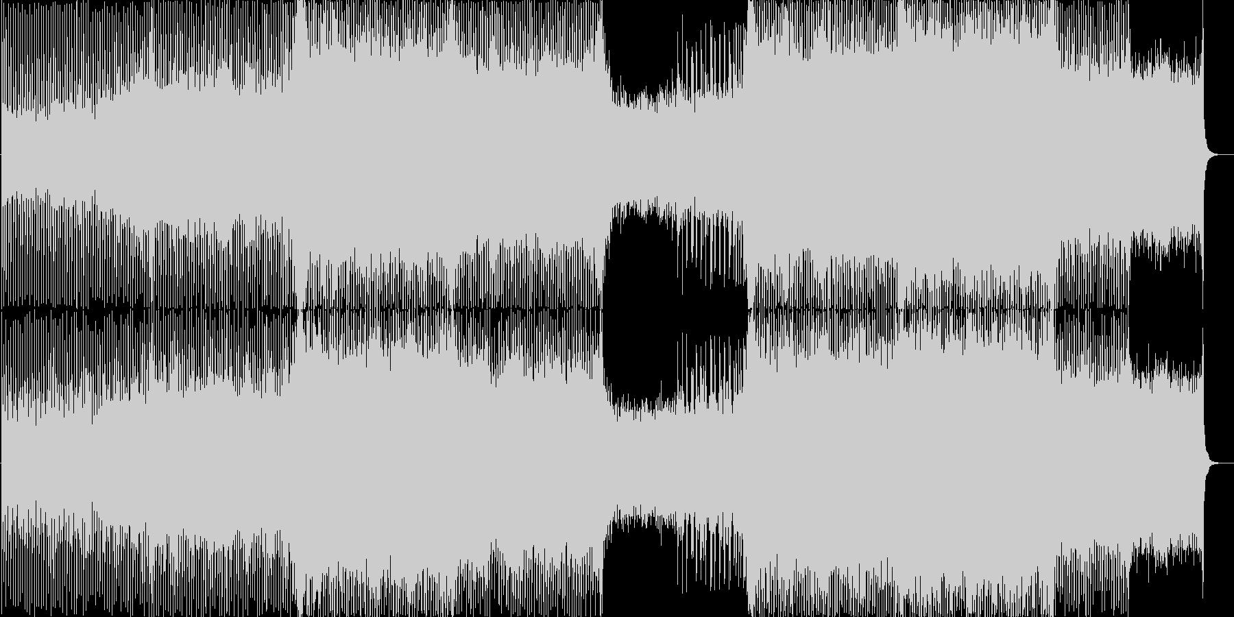 4つ打ちトランス。の未再生の波形