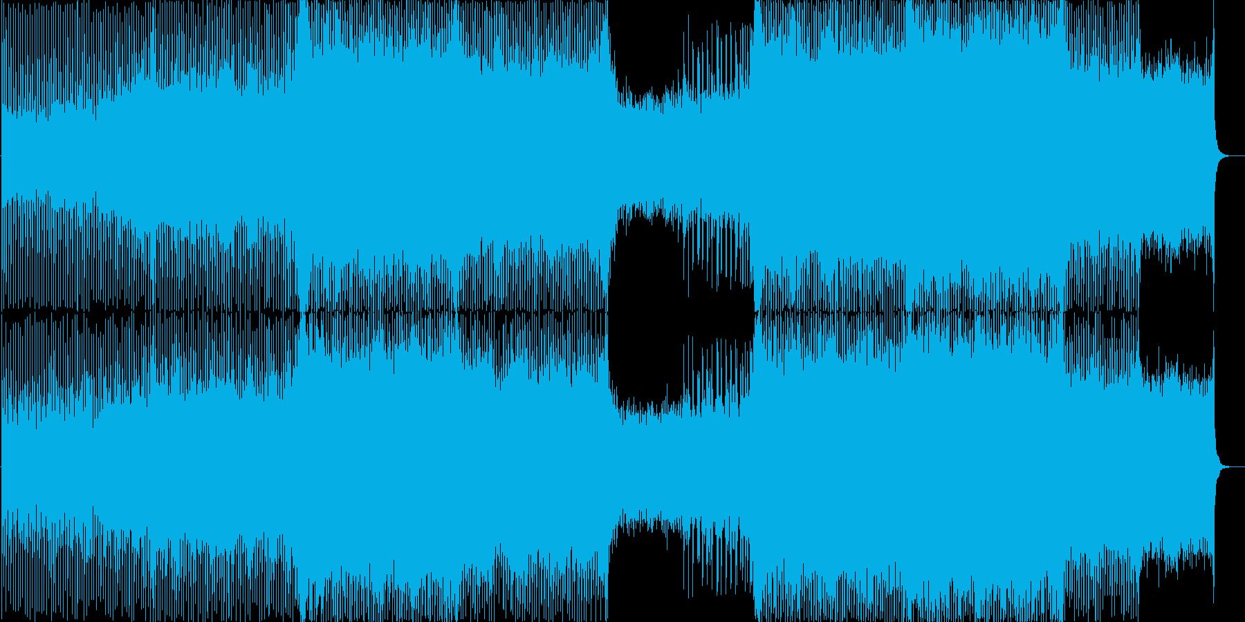 4つ打ちトランス。の再生済みの波形