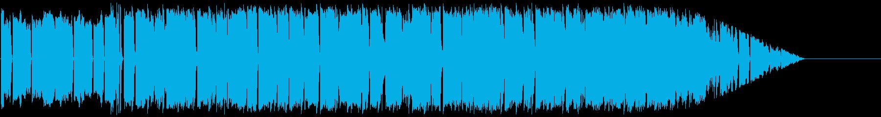 ゆったりリラックスできるラウンジの再生済みの波形