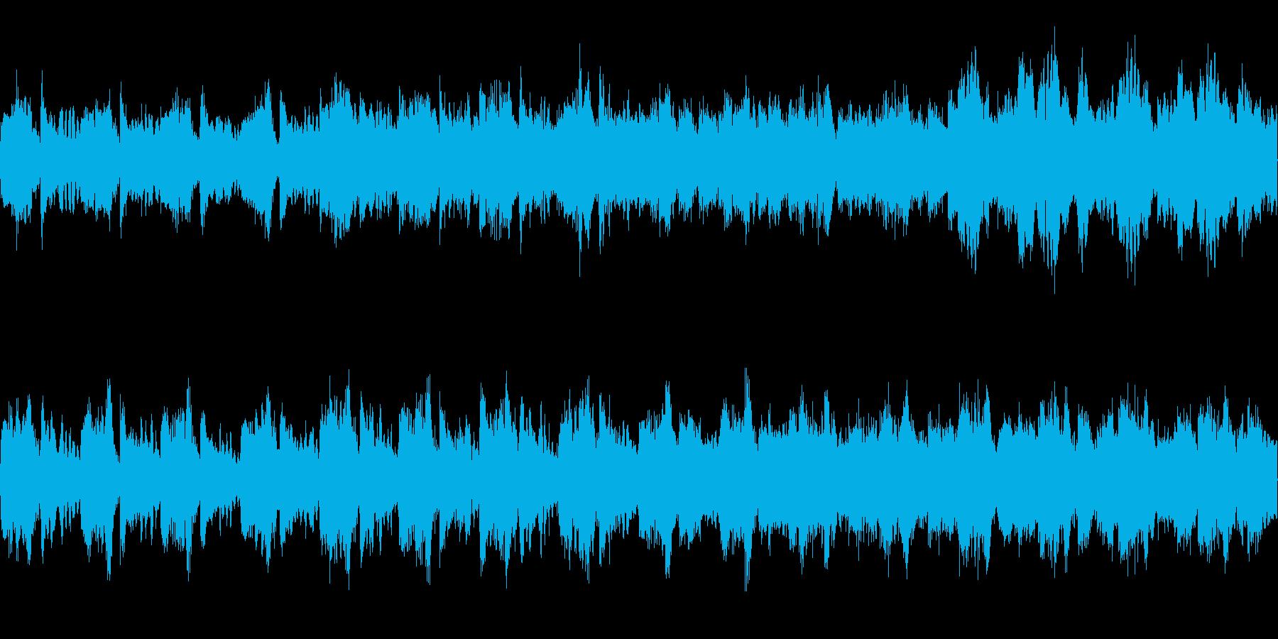 不気味さを表現した曲です。の再生済みの波形