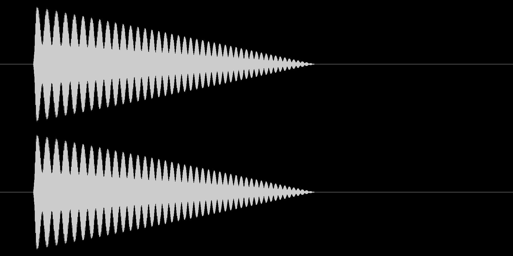 SNES シューティング01-08(アイの未再生の波形