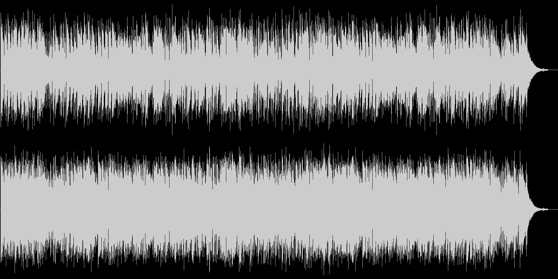 ワルツ「眠れる森の美女」よりJazzの未再生の波形