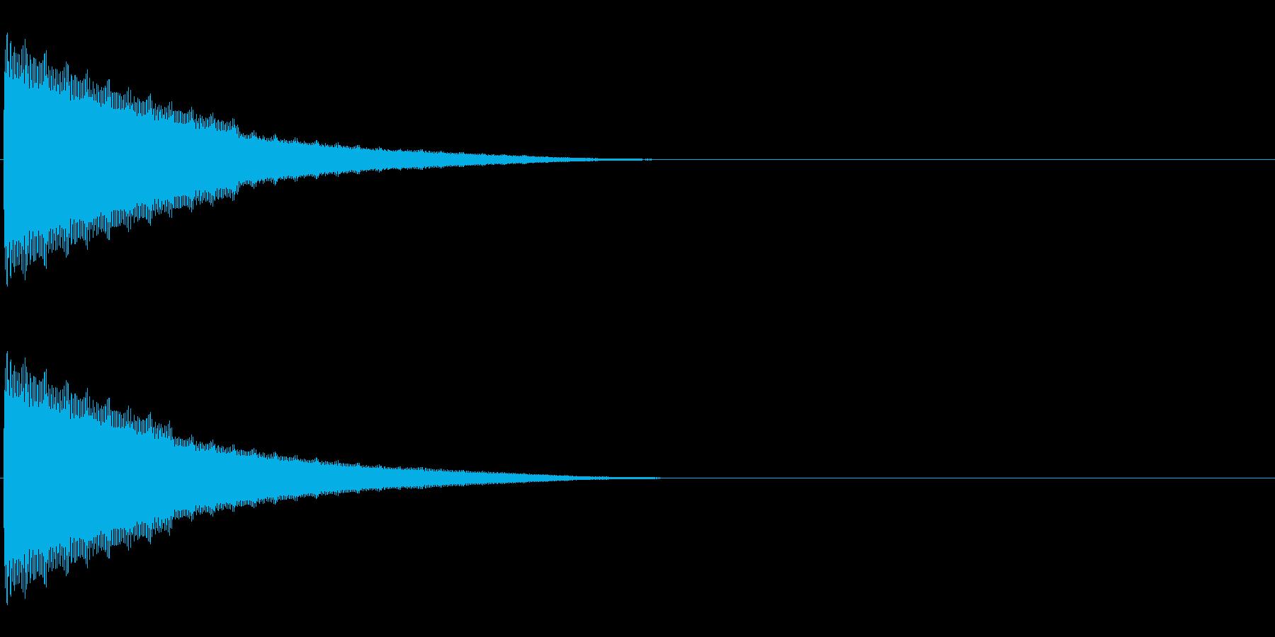 トーン (決定音・デジタル・ファミコン)の再生済みの波形
