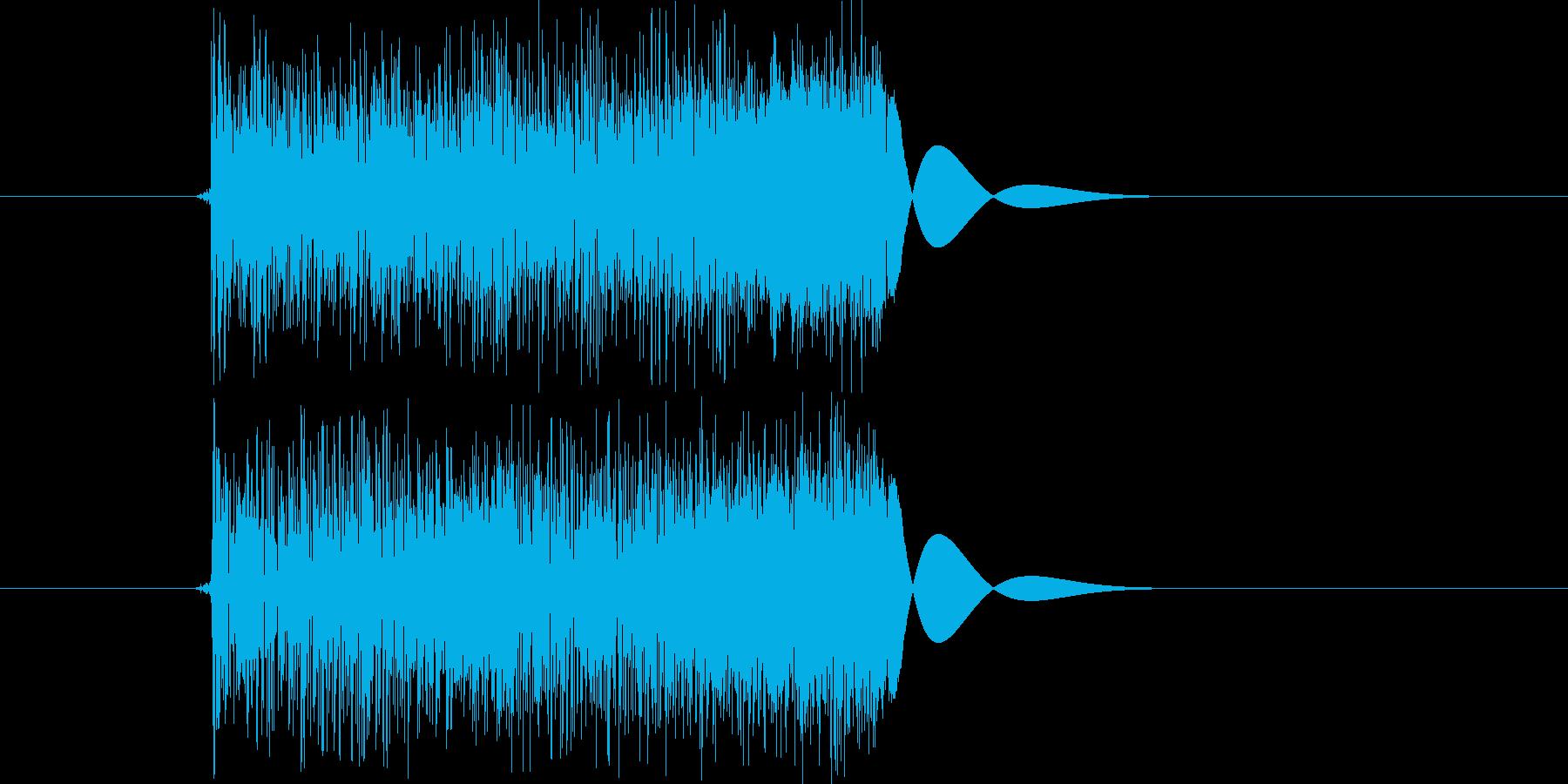 ズバ!の再生済みの波形