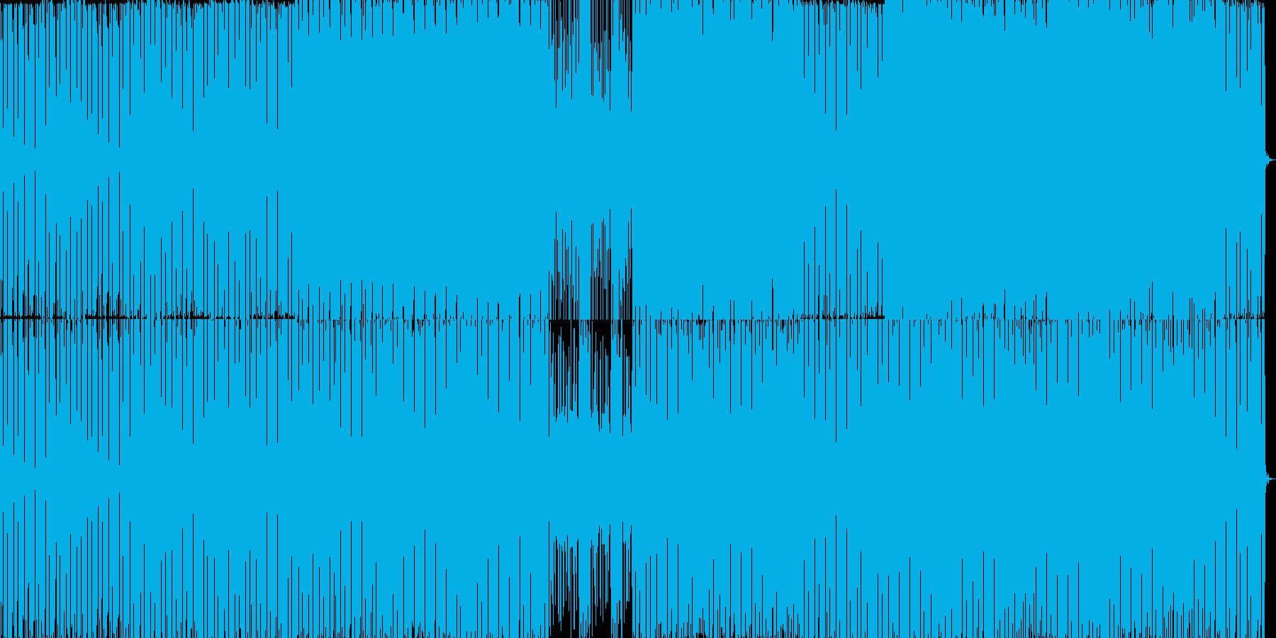 ウッドベースで作る疾走感のあるファンクの再生済みの波形