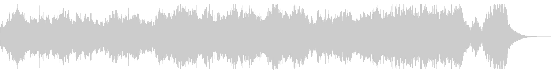 ファンタジーな短めなオーケストラBGM の未再生の波形