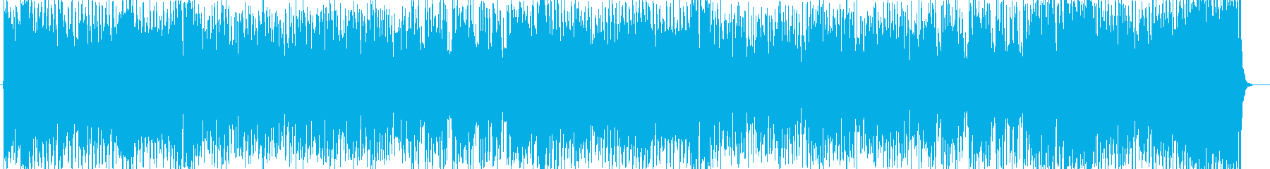 開幕を表現する爽やかなシンセサイザーの再生済みの波形