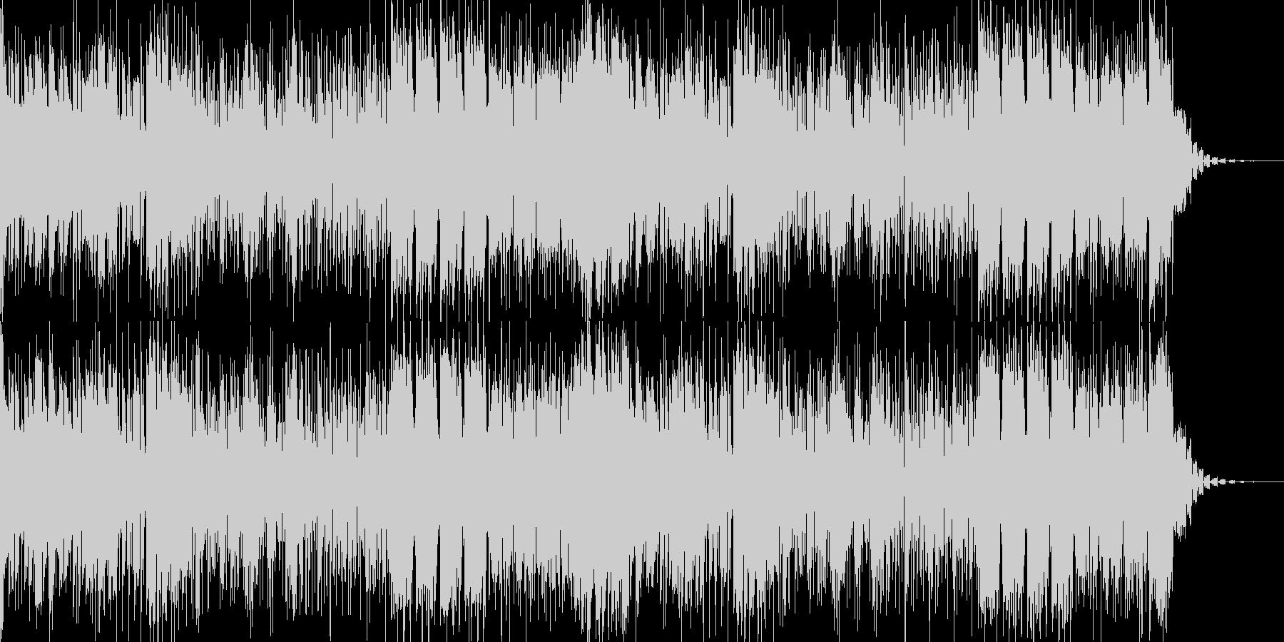 フォーリーなアンビエント風のIDMの未再生の波形