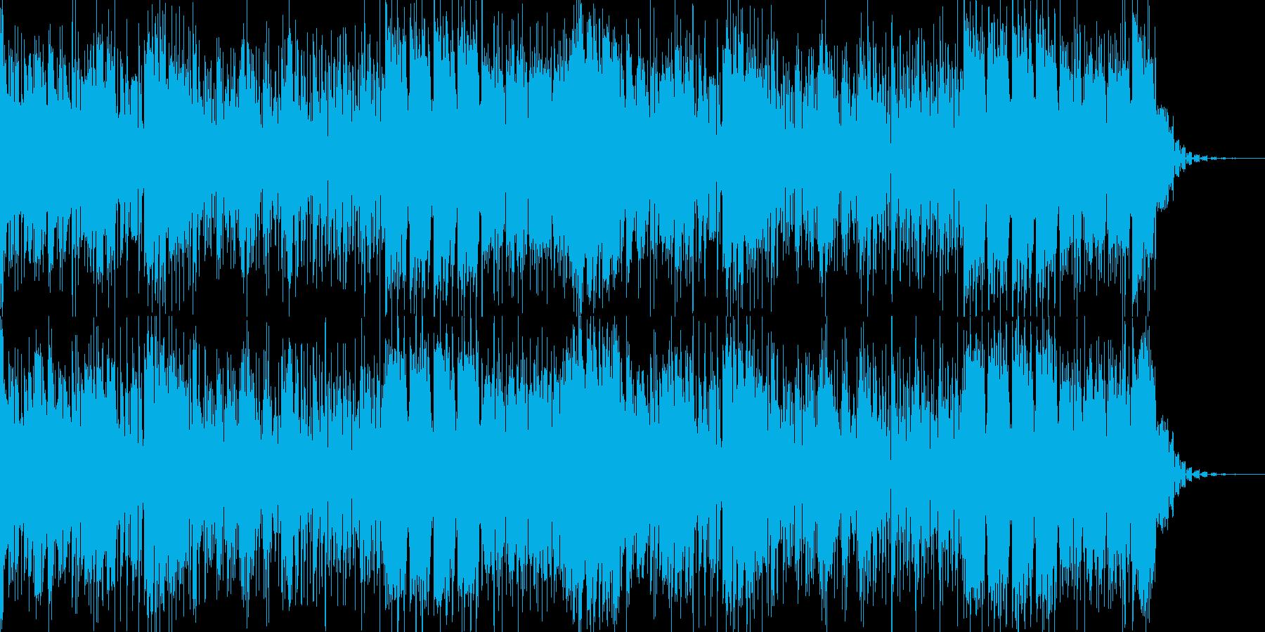 フォーリーなアンビエント風のIDMの再生済みの波形