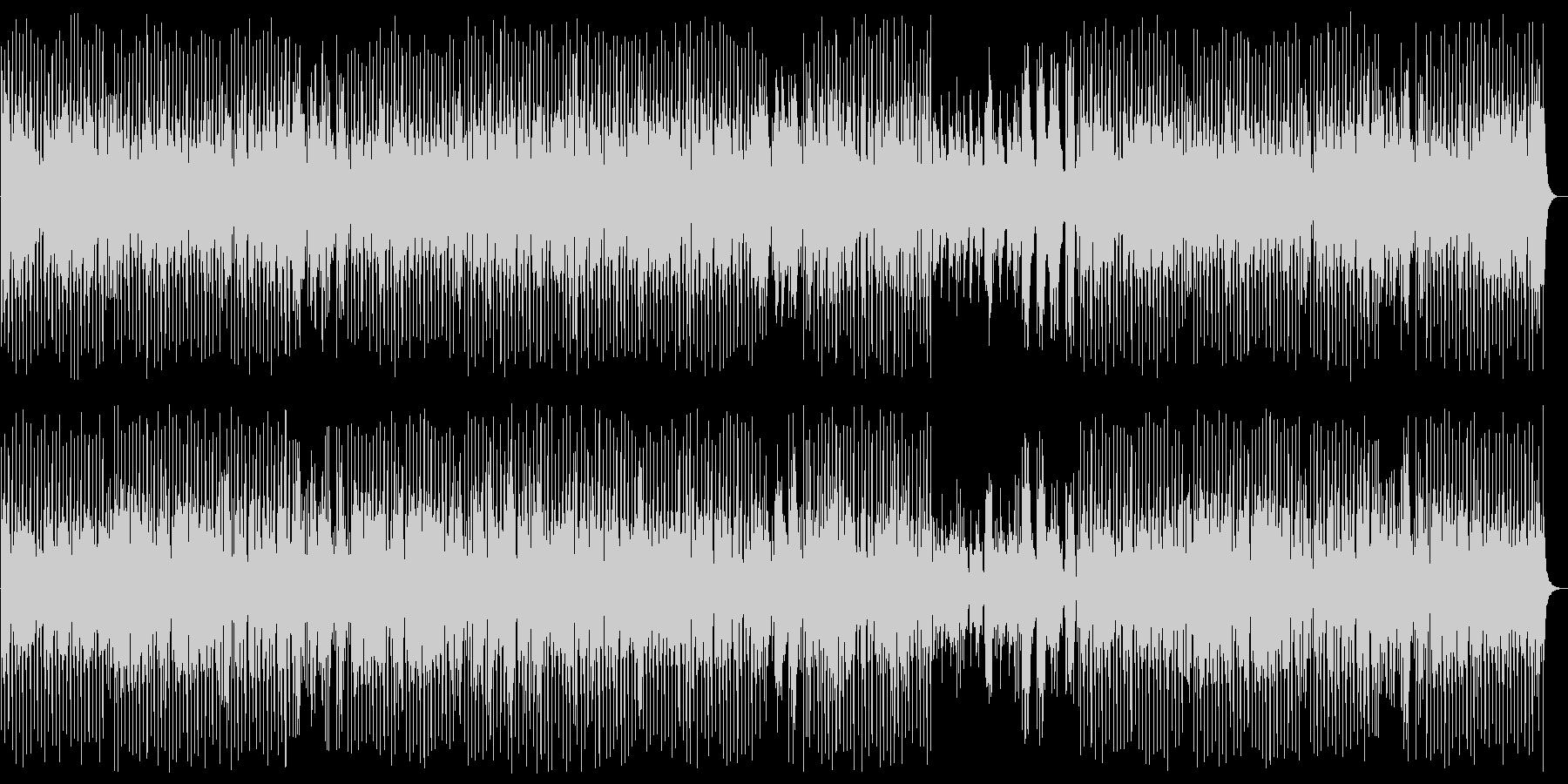 明るくワクワク感のシンセピアノサウンドの未再生の波形