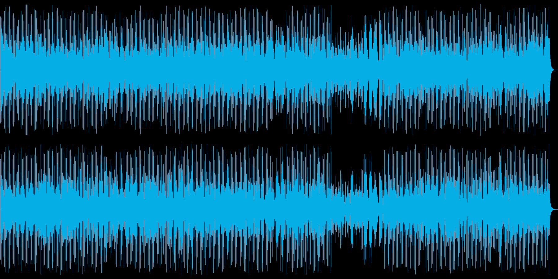 明るくワクワク感のシンセピアノサウンドの再生済みの波形