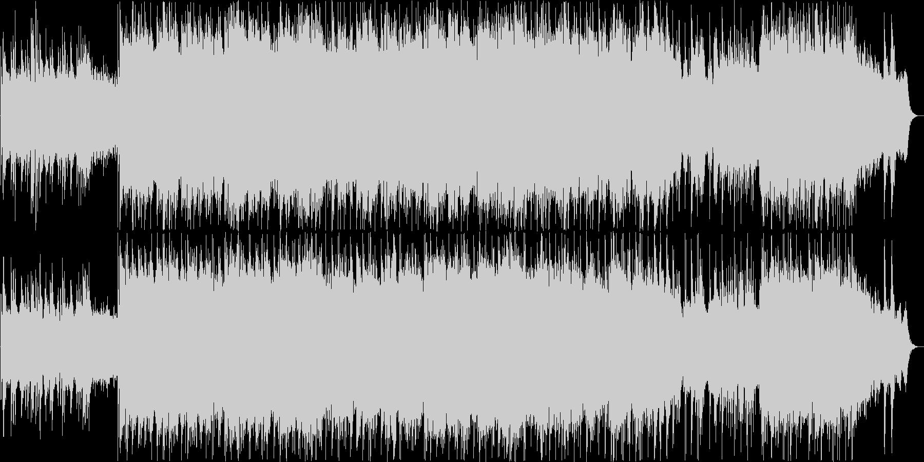 ショパン/ノクターンのギターアレンジ版の未再生の波形