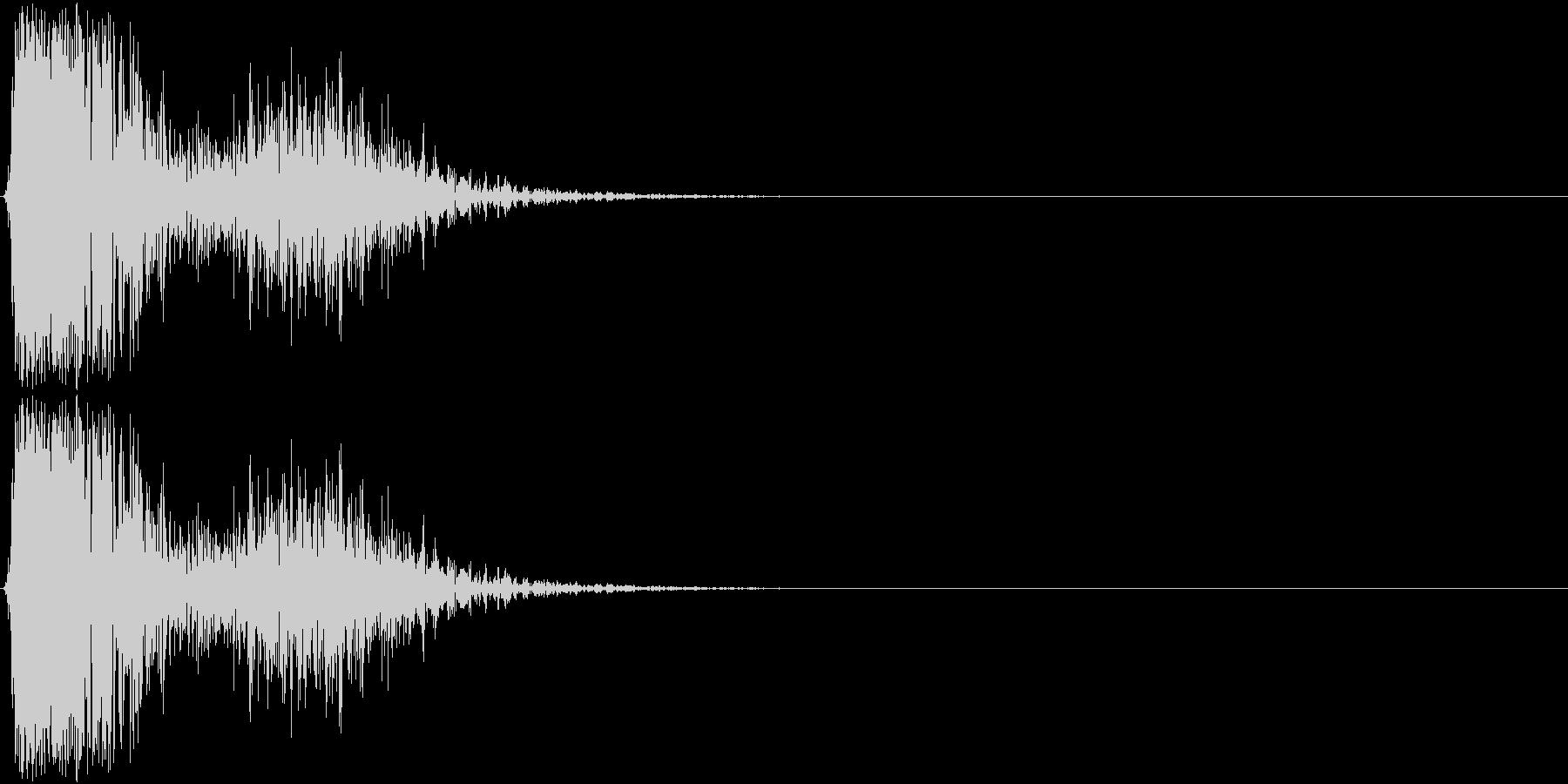 KAKUGE 格闘ゲーム戦闘音 53の未再生の波形