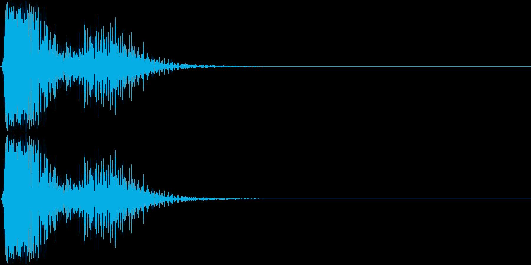 KAKUGE 格闘ゲーム戦闘音 53の再生済みの波形