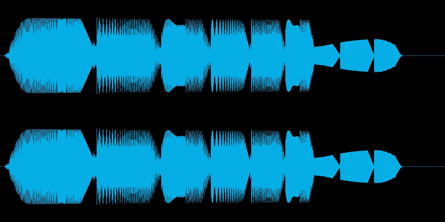 プワプワァ(泡の音色)の再生済みの波形