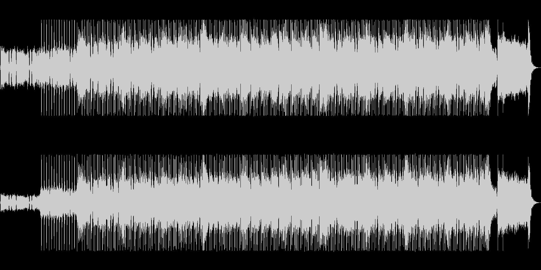 個性的なフレーズがクールなギターサウンドの未再生の波形