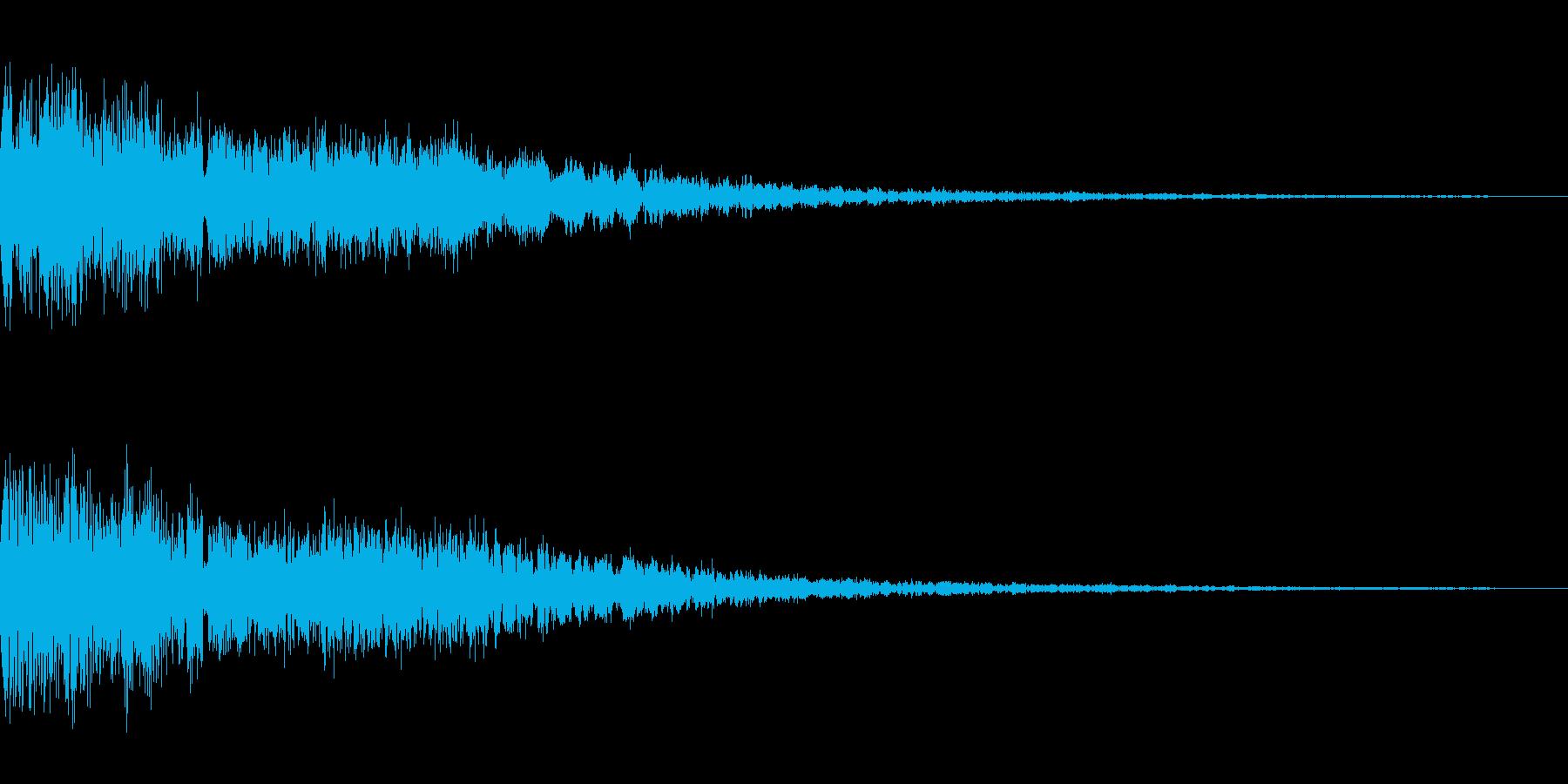 パキーンという音です。衝撃、攻撃、氷などの再生済みの波形