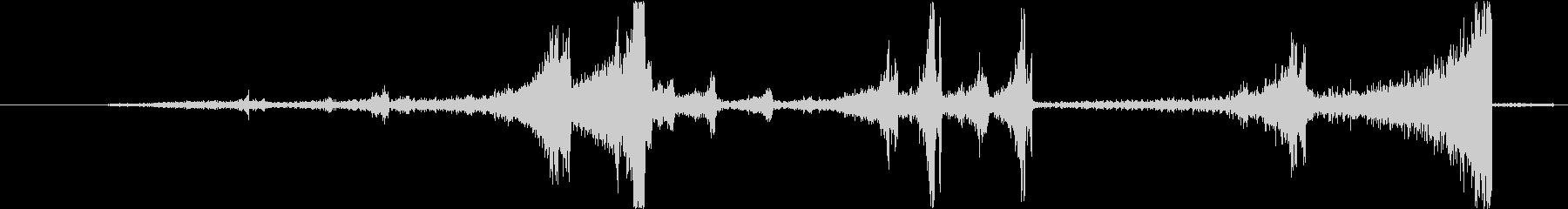 Zap 巻き戻し音・ザップ効果音 5の未再生の波形