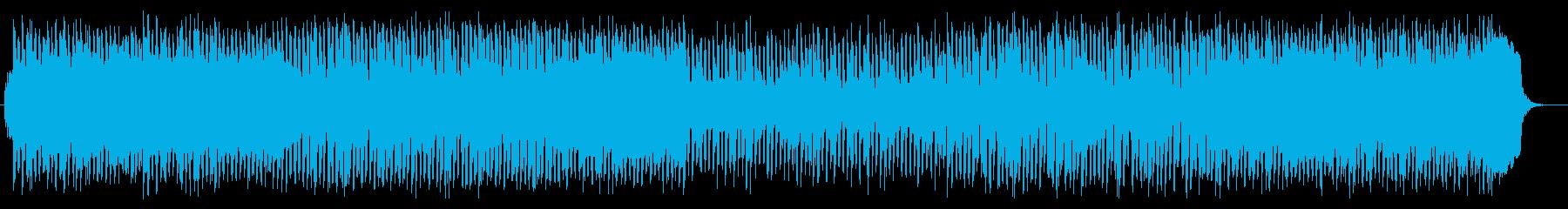 緊張感のあるミドルテンポのポップスの再生済みの波形