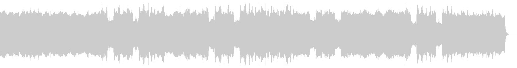 リバース音のアンビエントの未再生の波形
