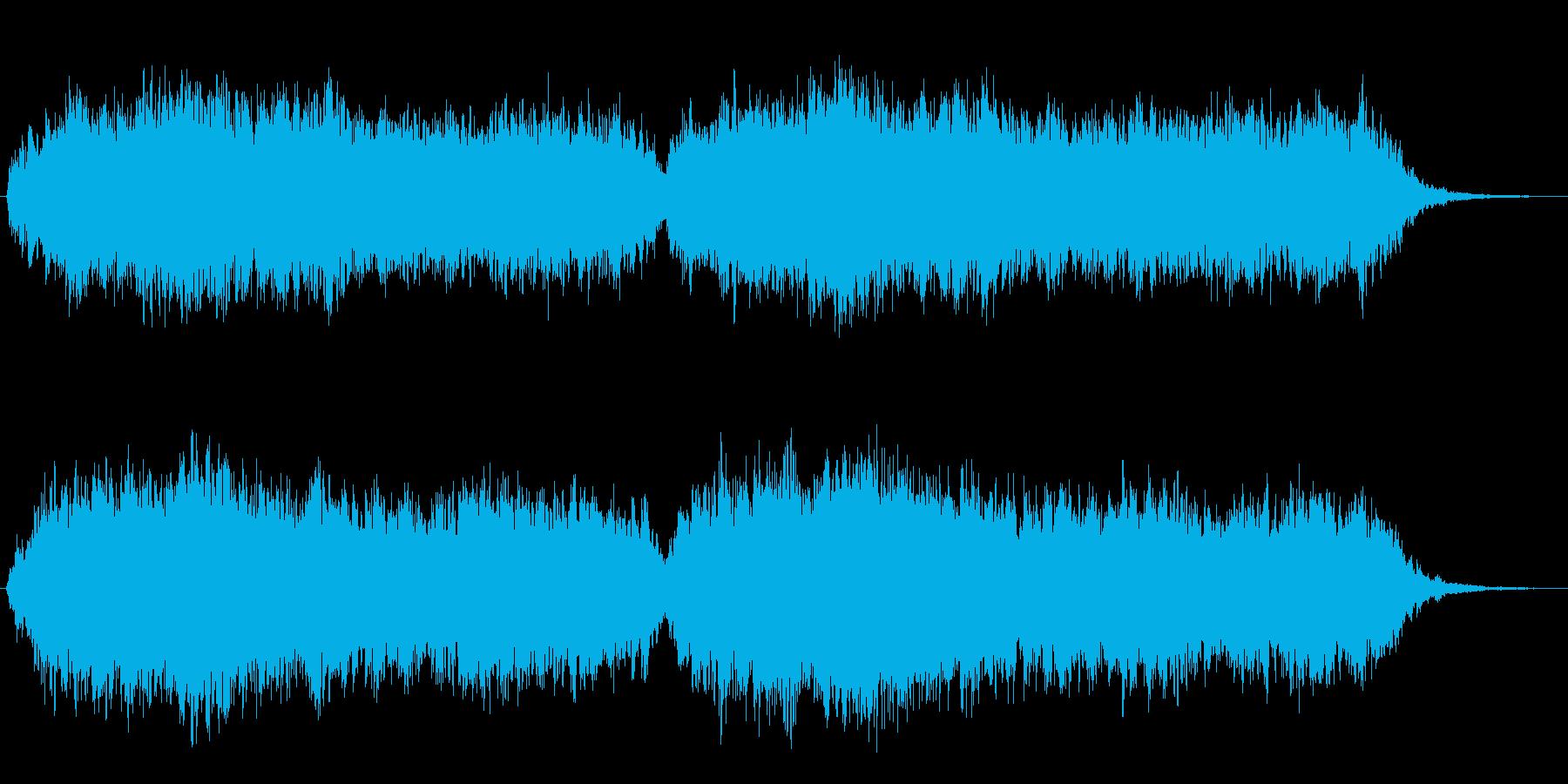 浄化された世界 クワイア コーラスの再生済みの波形