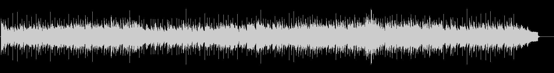 AOR風トレンディ・バラードの未再生の波形
