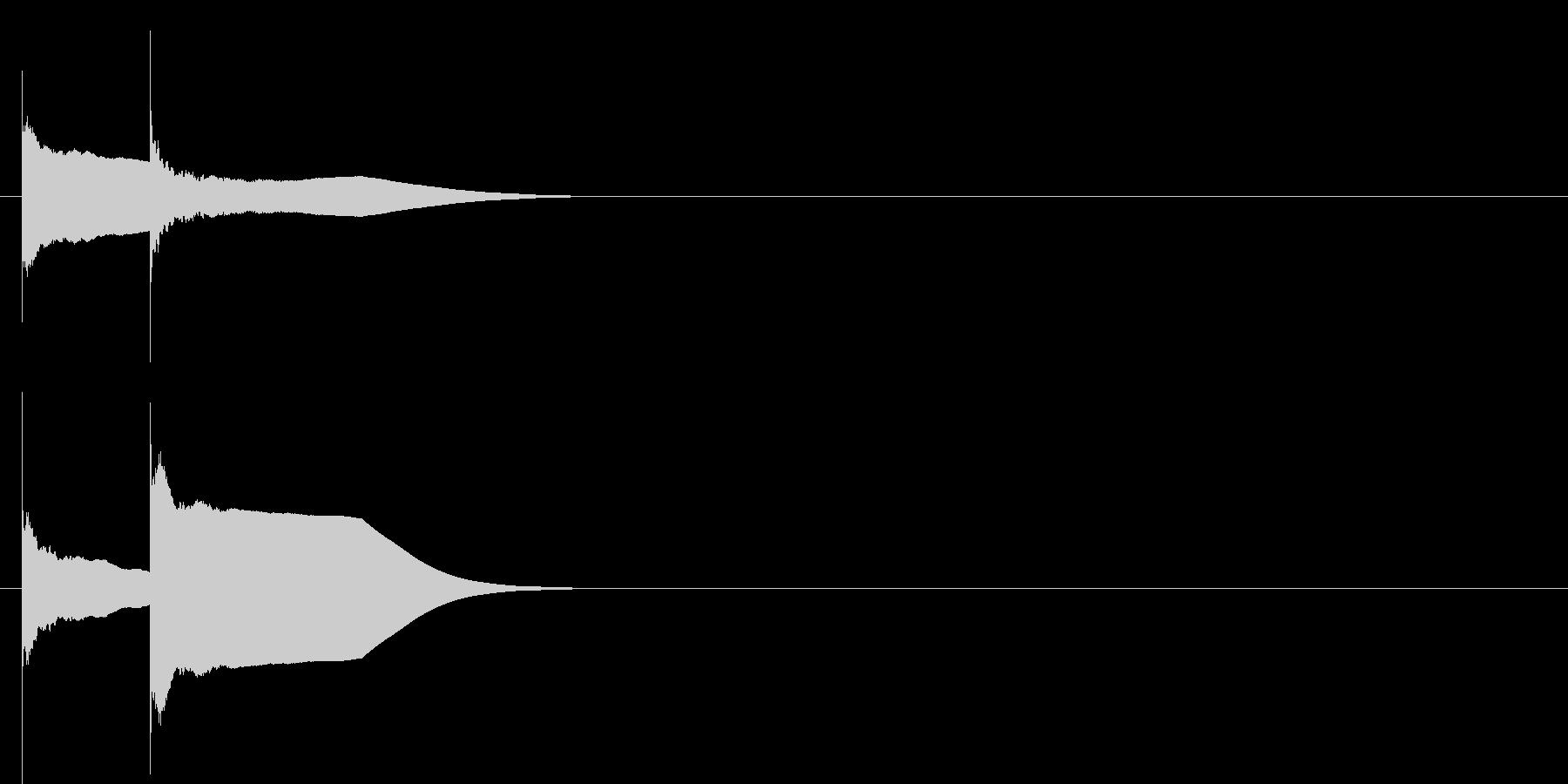 ピンポン系1 ノーマルの未再生の波形