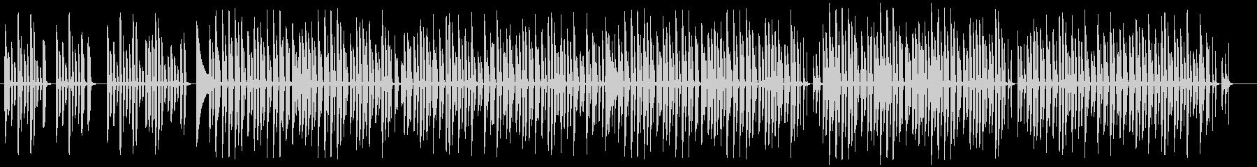 脱力系ほのぼの愉快なBGMの未再生の波形